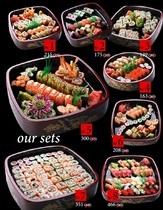 Все на суши-сеты в   МУРАКАМИ