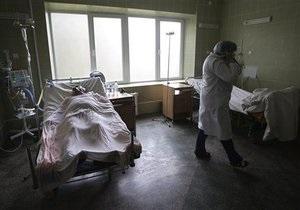 В Киеве подтвердили 228 случаев заболевания свиным гриппом