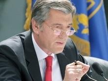 Ющенко считает пребывание ЧФ РФ в Крыму жестом доброй воли украинской нации