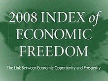 Украина заняла 133 место в рейтинге экономически свободных стран
