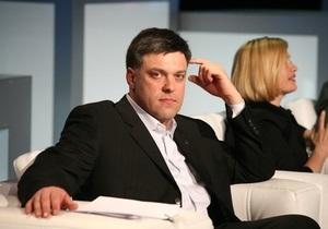 Тягнибок придумал способ сорвать ратификацию  пакта Медведева-Януковича
