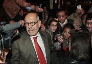 Лидер египетской оппозиции не верит в искренность намерений Мубарака