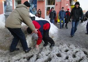 Фотогалерея: После снежной бури юг и восток Украины затопило