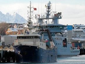 У берегов Норвегии затонул российский траулер