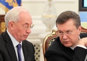 Янукович поручил Азарову подготовить программу обращения с отходами
