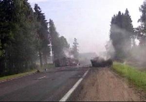 Момент жуткого ДТП в Беларуси зафиксировал видеорегистратор