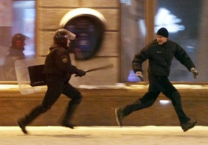 В столице Беларуси милиция пресекла акцию оппозиции