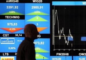Украинские фондовые биржи открылись умеренными продажами
