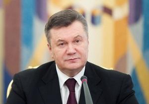 Янукович изменил полномочия министра Кабмина