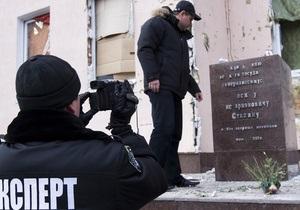 Блогер взял на себя ответственность за уничтожение памятника Сталину
