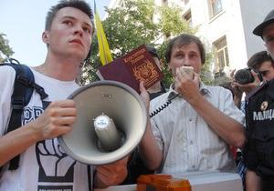 Батьківщина: Харьковский горисполком препятствует установке агитпалаток