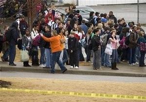 Стрельба в американской школе: двое раненых