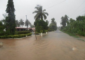 На Фиджи из-за ливней введен режим чрезвычайной ситуации