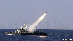 Иран испытал новую крылатую ракету