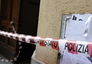 В Италии неизвестный пять раз выстрелил в чиновника