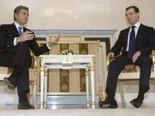 Ющенко обсудил с Медведевым празднование 1020-летия Крещения Руси
