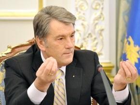 НГ: Евросоюз прокатил Виктора Ющенко