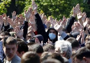 В МВД заявили, что знают о готовящихся во Львове провокациях на День Победы