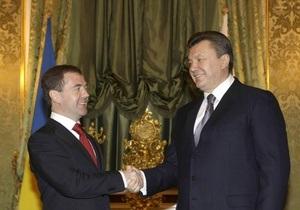 Медведев приедет в Украину 17 мая