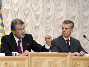 Ющенко забрал Хорошковского в СБУ из-за конфликта с Кабмином - Шлапак