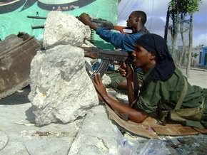 Исламисты захватили крупный город в центральной части Сомали