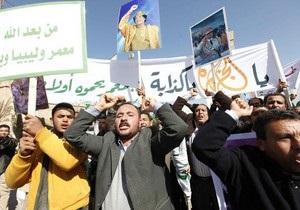 День гнева в Ливии: число жертв столкновений демонстрантов с полицией возросло до 19