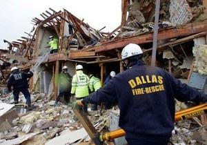 Взрыв в Техасе: Пожарные продолжают поиски выживших