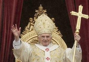 Первомайскую мессу Папы Римского запишут в 3D