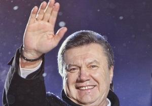 Янукович отбыл в Брюссель
