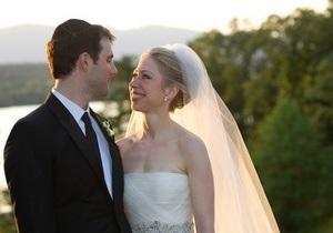 Фотогалерея: Свадьба века. Дочь Билла и Хиллари Клинтон вышла замуж
