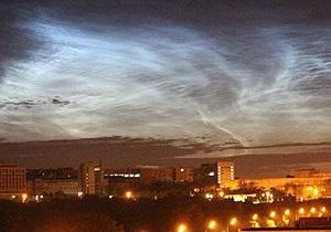 Жители Челябинска приняли аномальные серебристые облака за техногенную катастрофу