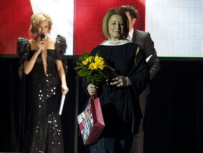 Фотогалерея: Герман и Кильчицкая - модницы года
