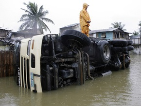 Жертвами тропического шторма на Филиппинах стали 22 человека
