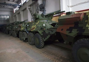 Украина, экспорт - Укрспецэкспорт передал Таиланду два десятка боевых машин