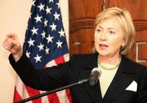 Клинтон потребовала от Беларуси освободить политзаключенных