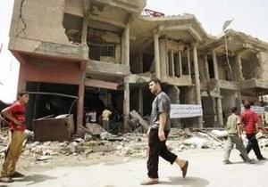 При ракетном обстреле в  зеленой зоне  Багдада погибли три человека