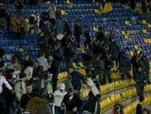 Милиция намерена составить черный список футбольных фанатов