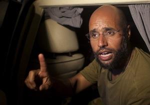 С сына Каддафи сняли обвинения в причастности к массовым изнасилованиям в Ливии