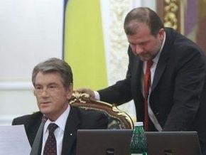 Балога просит СБУ разобраться с мошенниками, зарабатывающими на Ющенко