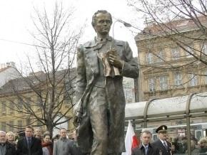 Деньги на памятник Шевченко в Праге дала швейцарская компания
