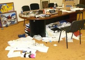 Обыск в офисе партии Корнийчука: новые подробности