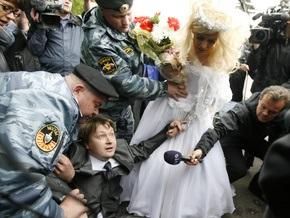 Фотогалерея: Московская милиция разогнала Славянский гей-парад