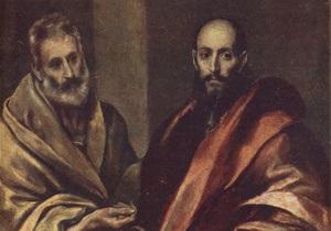 Православные празднуют День святых апостолов Петра и Павла
