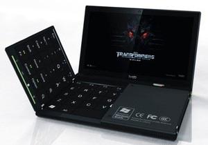 Разработан микроноутбук с полноразмерной складной клавиатурой