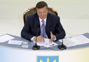 Президент считает, что финансово-экономическая ситуация в Украине медленно улучшается
