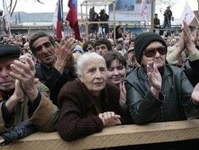 В Тбилиси произошло еще одно столкновение оппозиции с полицией