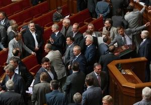 В парламенте появился законопроект о продлении полномочий Рады и местных советов на год