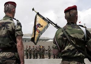 Солдат афганской армии расстрелял четырех французских военнослужащих