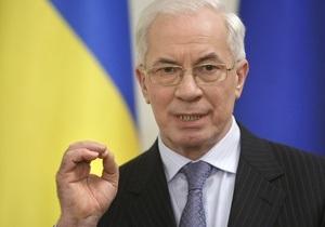 Азаров назвал дату начала размещения НДС-облигаций