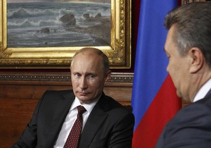 Началась встреча Януковича и Путина